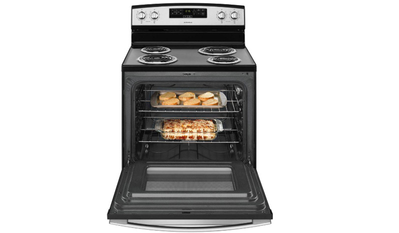 Amana® 30-inch Electric Range with Bake Assist Temps ACR4303MFS full