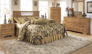 B219 Bittersweet  5 PC Bedroom Set B219-31-36-46-55-92 full