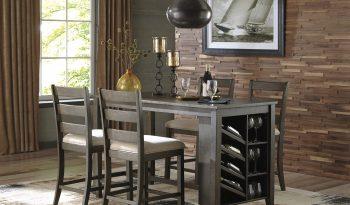 D397 Rokane 5 PC Dining table D397-32-124(4) full