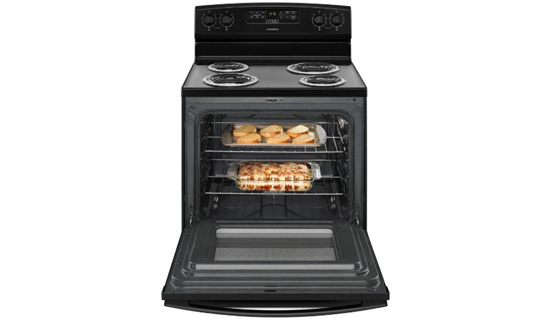 ACR4303MFB 30-inch Electric Range with Bake Assist Temps full