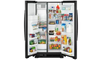 ASI2575GRB 36-inch Side-by-Side Refrigerator with Dual Pad External Ice and Water Dispenser full