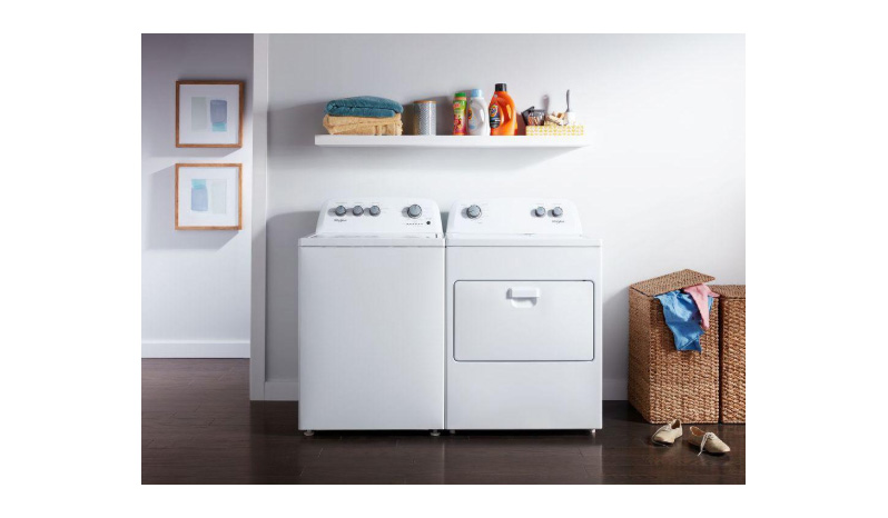 WTW4850HW/WED4850HW WHIRLPOOL WASHER /DRYER COMBO full