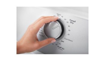 WED4850HW 7.0 cu. ft. Top Load Electric Dryer with AutoDry™ Drying System full